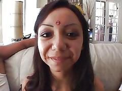 Gorgeous Indian Girl Gets Spit R...