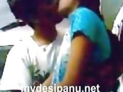 Indian girl Tuli with her lover exposing and cumming on her dress