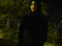 Arab chick gets banged in doggy style with big rod