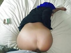 Homeless arab babe fucked hard in her pussy