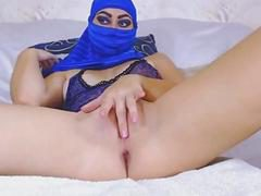 Squirting Muslim Arab Babe Loves Anal And Pussy Fuck