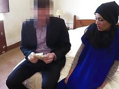 Arab Teen Gives Head And Gets Pounded In Hotel Room