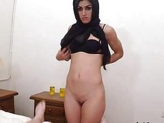 Hot Arab Chick Julia Roca Fucks For Money