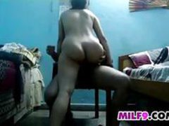 Indian Mother With A Great Ass