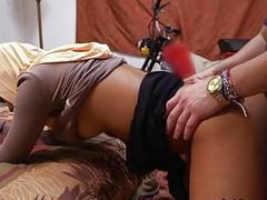 Arab Secretary Nikki Kay Gets Impaled By Hung Boss